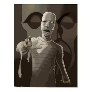 Mr.Mummy Postcard