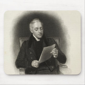 Mr. Murray, publisher of Lord Byron's works Mouse Pad