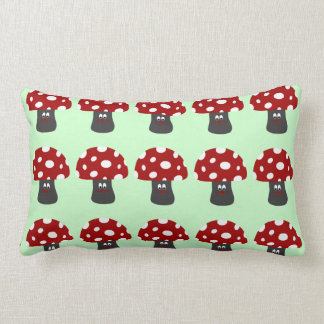 Mr Mushroom Throw Pillow