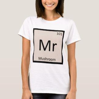 Mr - Mushroom Vegetable Chemistry Periodic Table T-Shirt