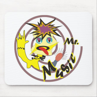 Mr Music Mouse Pad
