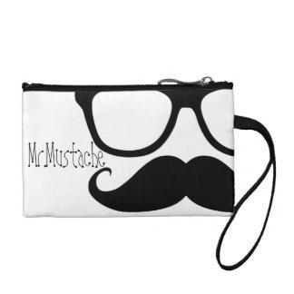 MR.MUSTACHE handbag Coin Wallet