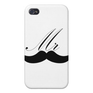 Mr Mustache iPhone 4/4S Cases