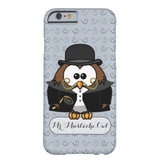 Mr. Mustache Owl Barely There iPhone 6 Case