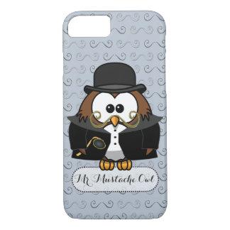Mr. Mustache Owl iPhone 7 Case