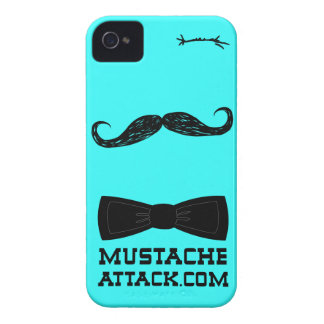 Mr. mustache wink with bow tie for   iPhone 4 cover