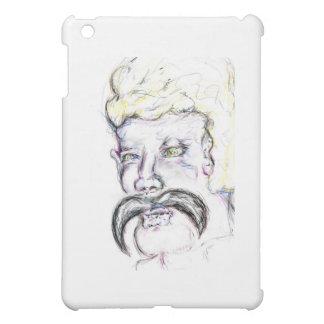 Mr Mustachio Heraclitus iPad Mini Cover
