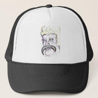 Mr Mustachio Heraclitus Trucker Hat