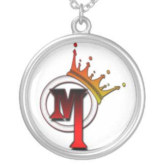 Mr. Muzik Necklace (Round)