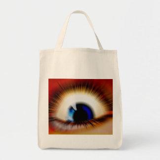 Mr Myopic Grocery Tote Bag