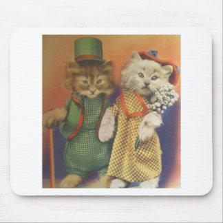 mr n mrs cat mousepads