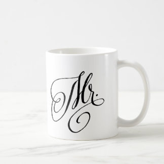 Mr. new Groom couples mug Bridal Shower gift