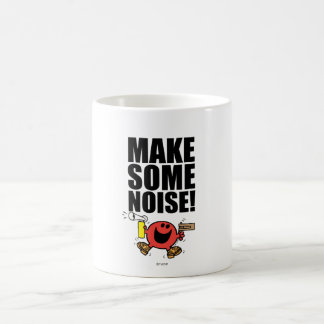 Mr. Noisy | Make Some Noise Classic White Coffee Mug