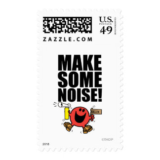 Mr. Noisy | Make Some Noise Stamps