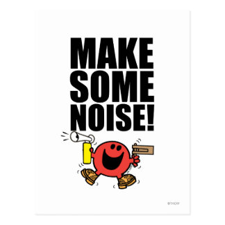 Mr. Noisy | Make Some Noise Postcard
