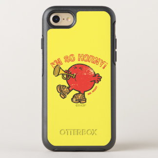 Mr. Noisy Tooting His Horn OtterBox Symmetry iPhone 7 Case