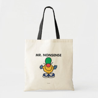 Mr Nonsense Classic Canvas Bag