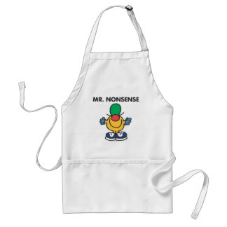 Mr. Nonsense | Funny Outfit Adult Apron