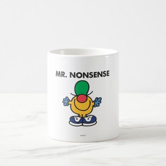 Mr. Nonsense | Funny Outfit Coffee Mug