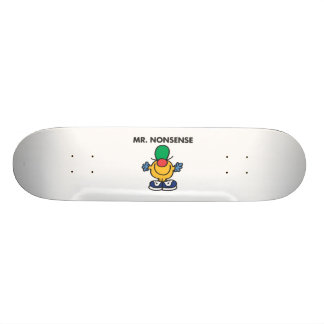 Mr. Nonsense | Funny Outfit Skate Deck