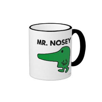Mr Nosey Classic Coffee Mug