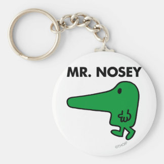 Mr. Nosey | Leading By A Nose Keychain