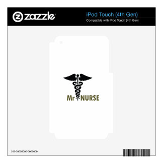 MR NURSE DECAL FOR iPod TOUCH 4G