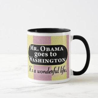 Mr. Obama goes to Washington Mug
