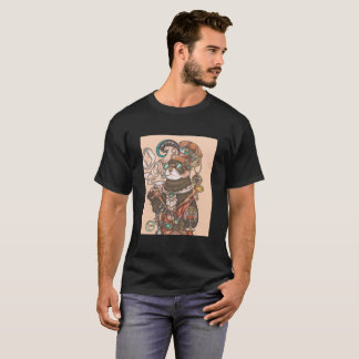 Mr. Octavius Steam Punk Ferret T-Shirt (Colored)