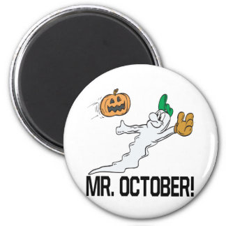 Mr October 2 Inch Round Magnet