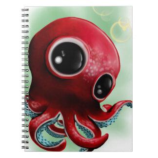 Mr Octopus Notebook
