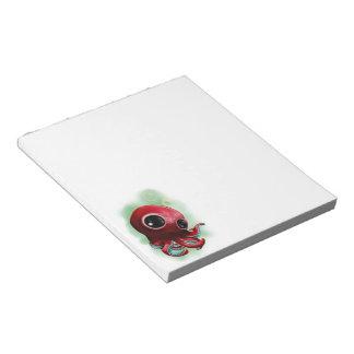 Mr Octopus Notepad