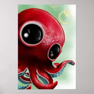 Mr Octopus Poster