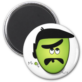 Mr Olie Whatever 2 Inch Round Magnet