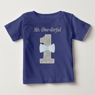 Mr. ONE-derful Toddler T-shirt, Mr. Onederful Baby T-Shirt