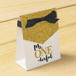Mr. ONEderful Tent Favor Box