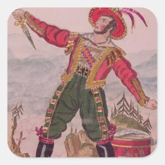 Mr. Osbaldiston as Andreas Hofer Sticker