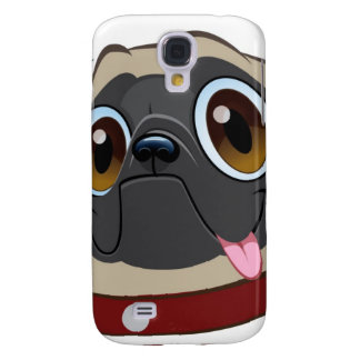 Mr. Other Pug iPhone case Samsung Galaxy S4 Cover