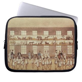 Mr Owen's Institution, New Lanark (Quadrille Danci Laptop Sleeve