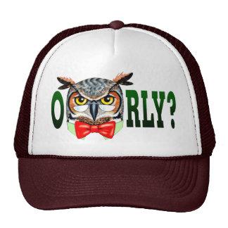 Mr. Owl says O RLY? Trucker Hat