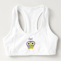 Mr. Owl Sports Bra