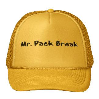 Mr. Pack Break Trucker Hat