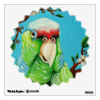 Mr Parrot Wall Decal