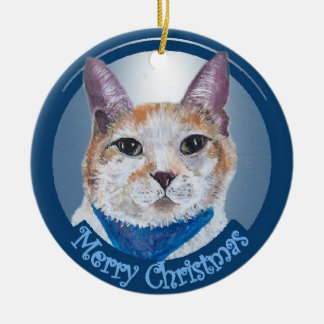 Mr. Peabody Mae Christmas Ornament