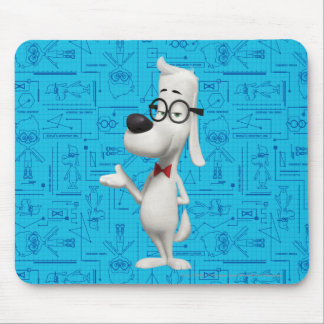 Mr. Peabody Mouse Pad
