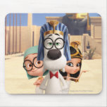 Mr. Peabody & Sherman in Egypt Mouse Pad