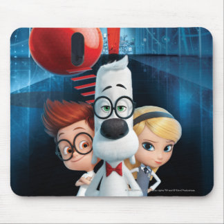 Mr. Peabody & Sherman in the Wabac Room Mouse Pad