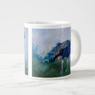 Mr. Peacock Large Coffee Mug