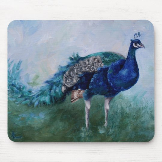 Mr. Peacock Mousepad
