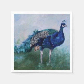 Mr. Peacock Paper Napkins